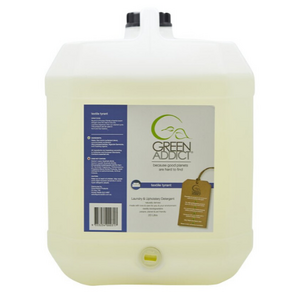 GreenAddict Natural Laundry and Upholstery Concentrate ~ 20 Litre Refill