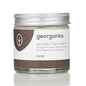 Georganics Natural Mineral-rich Toothpaste ~ Pure 60ml