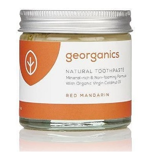 Georganics Natural Mineral-rich Toothpaste ~ Mandarin 60ml
