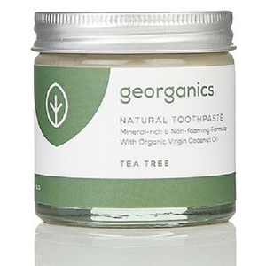 Georganics Natural Mineral-rich Toothpaste ~ Tea Tree 60ml
