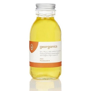 Georganics Oil Pulling Mouthwash ~ Mandarin 100ml