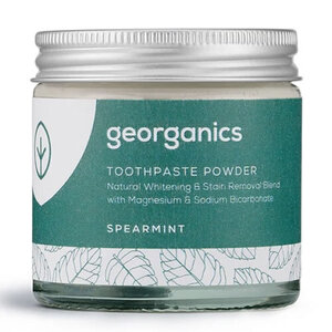 Georganics Natural Toothpowder ~ Spearmint 60ml