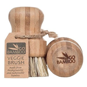 Go Bamboo Veggie Brush