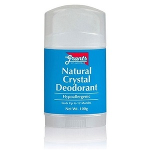 Grants of Australia Deodorant Natural Crystal ~ 100g