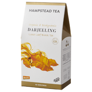 Hampstead Tea Darjeeling Loose Leaf Tea (Organic) ~ 100g Pouch
