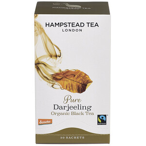 Hampstead Tea Pure Darjeeling (Organic)  ~ 20 Tea Bags