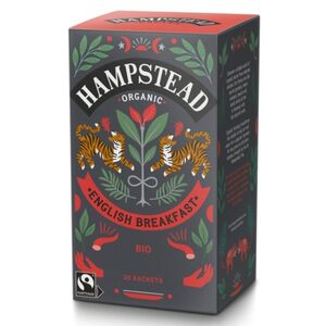 Hampstead Tea English Breakfast (Organic)  ~ 20 Tea Bags
