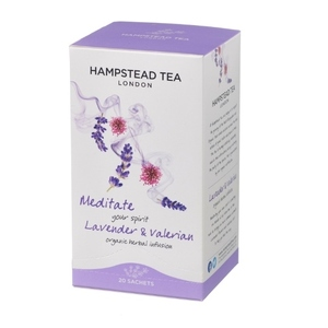 Hampstead Tea Lavender & Valerian (Organic) ~ 20 Tea Bags