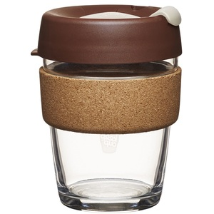 KeepCup Brew Cork Edition ~ Almond ~ Medium 12oz / 340ml