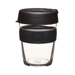 KeepCup Brew Change Makers Edition ~ Black ~ Medium 12oz / 340ml