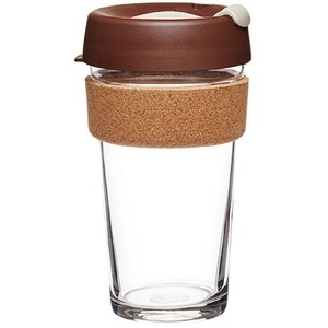 KeepCup Brew Cork Edition ~ Almond ~ Large 16oz / 454ml