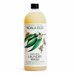 Koala Eco Laundry Liquid - Lemon, Eucalyptus & Rosemary ~ 1L