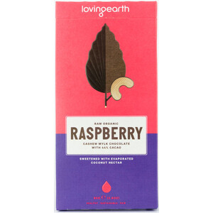 Loving Earth Raspberry Cashew Mylk Chocolate (Organic) ~ 80g
