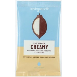 Loving Earth Creamy Coconut Mylk Chocolate (Organic) ~ 30g