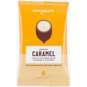 Loving Earth Caramel Chocolate (Organic) ~ 30g