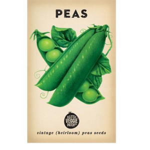 The Little Veggie Patch Co Pea 'Snap Sugar Bon' Heirloom Seeds