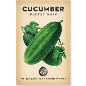 The Little Veggie Patch Co Cucumber 'Market Moore' Heirloom Seeds