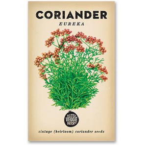 The Little Veggie Patch Co Corriander 'Eureka' Heirloom Seeds
