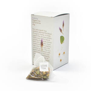 Love Tea Calming Pyramid Bags (Organic) ~ 20 Tea Bags