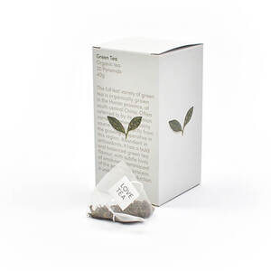 Love Tea Green Tea Pyramid Bags (Organic) ~ 20 Tea Bags