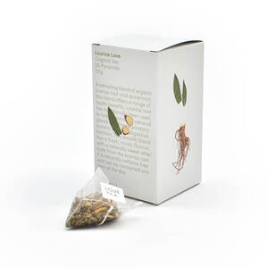Love Tea Licorice Love Pyramid Bags (Organic) ~ 20 Tea Bags