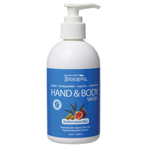 Australian Biologika Mediterranean Bliss Hand & Body Wash ~ 250ml