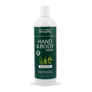 Australian Biologika Hemp & Tea Tree Hand & Body Wash ~ 500ml