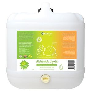 Ecologic Lemon Lime Dish Liquid ~ Bulk Value 15L