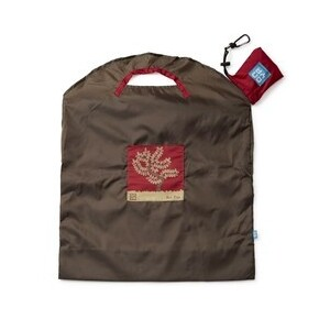 Onya Everyday Reusable Shopping Bag Olive Red Tree ~ Large