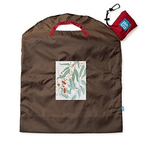 Onya Everyday Reusable Shopping Bag Light Leaves ~ Large