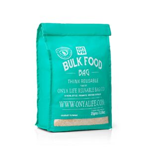 Onya Bulk Food Bag Aqua ~ Large