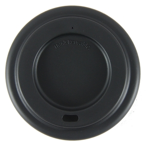 Onya Reusable Coffee Cup Lid ~ Black