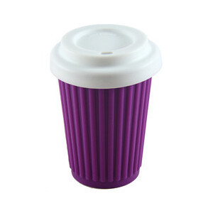 Onya Reusable Coffee Cup Purple - Regular