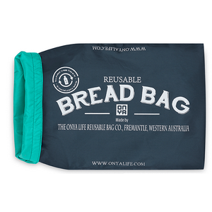 Onya Bread Bag Reusable ~ Charcoal