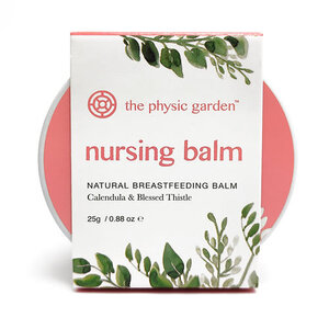 The Physic Garden Nursing Balm ~ 25g