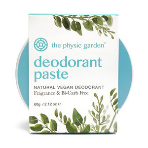 The Physic Garden Fragrance Free Deodorant ~ 60g