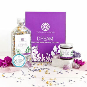 The Physic Garden Dream Bedtime Skincare Collection