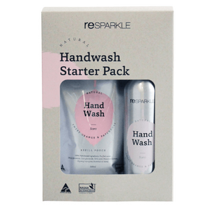 Resparkle Natural  Handwash Liquid Starter Pack