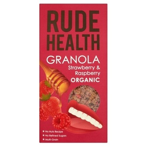 Rude Health Berry (Strawberry & Raspberry) Granola (Organic) ~ 450g