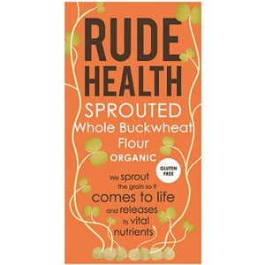 Rude Health Sprouted Whole Buckwheat Flour (Organic) ~ 500g