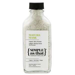 SIMPLE as that Matcha Mask ~ 25g