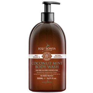 Eco by Sonya Driver Coconut & Mint Body Wash (Organic) ~ 500ml