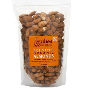 2Die4 Activated Almonds (Organic) ~ 120g