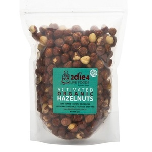 2Die4 Activated Hazel Nuts (Organic) ~ 300g