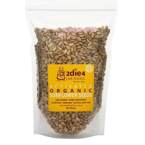 2Die4 Activated Sunflower Seeds (Organic) ~ 300g