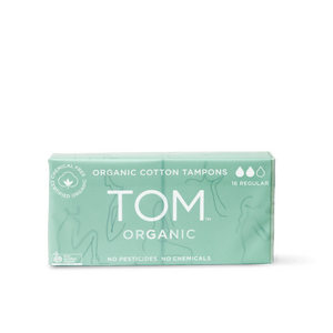 TOM Tampons Regular ~ 2 x 8 Twin Pack