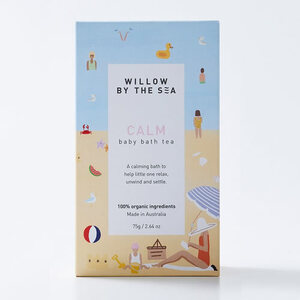 Willow By The Sea Calm Baby Bath Tea ~ 75gm