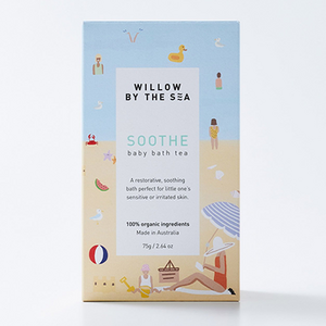 Willow By The Sea Soothe Baby Bath Tea ~ 75gm