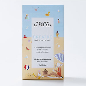 Willow By The Sea Breathe Baby Bath Tea ~ 75gm