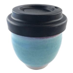 Bridget Foley Ceramic Reusable Cup ~ Turquoise